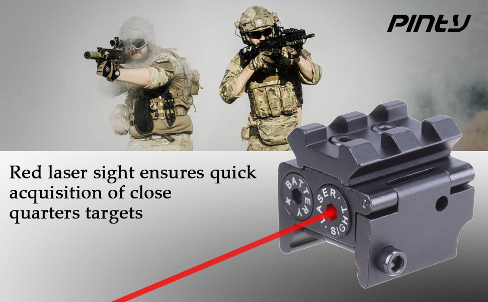 Pinty Compact Red Laser Dot Sight