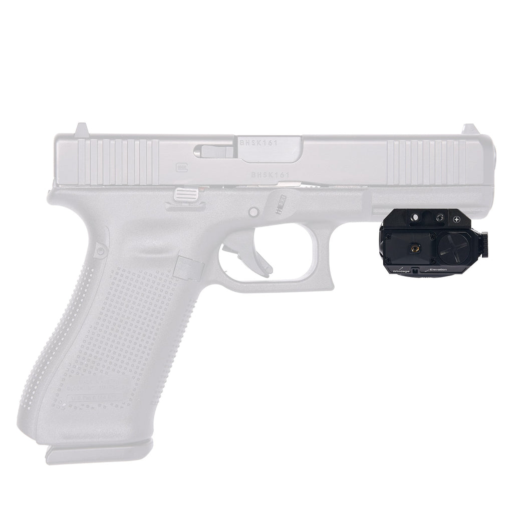 Green Laser and LED Light Combo for Pic Rail Pistols and Rifles