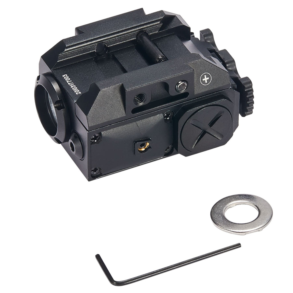 Laser Flashlight Combo for Picatinny Rails