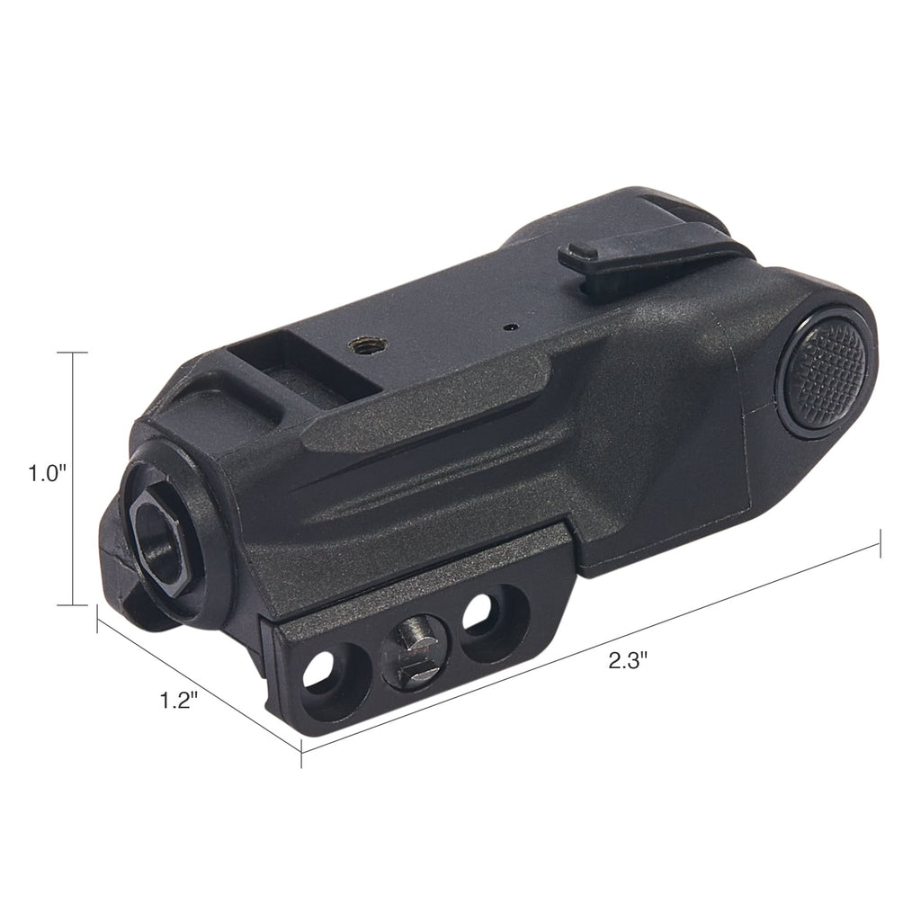 Picatinny Green Laser Dot Sight Dimensions