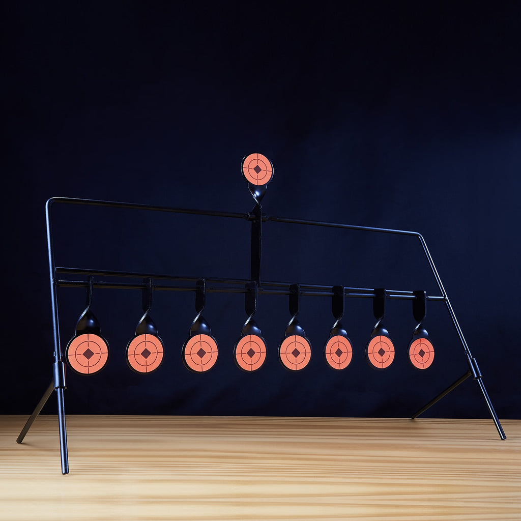 Target Stand with 9 Auto-Resetting Targets