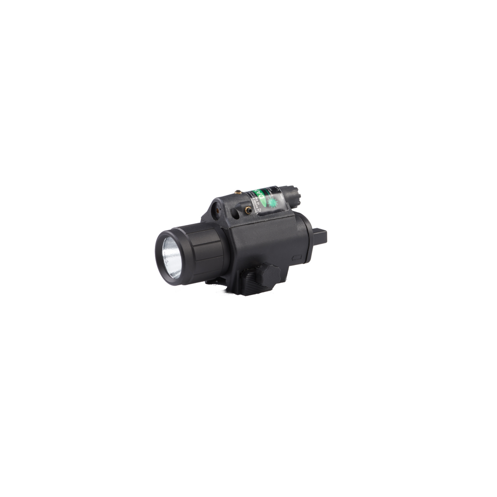Tactical Flashlight with Green Laser