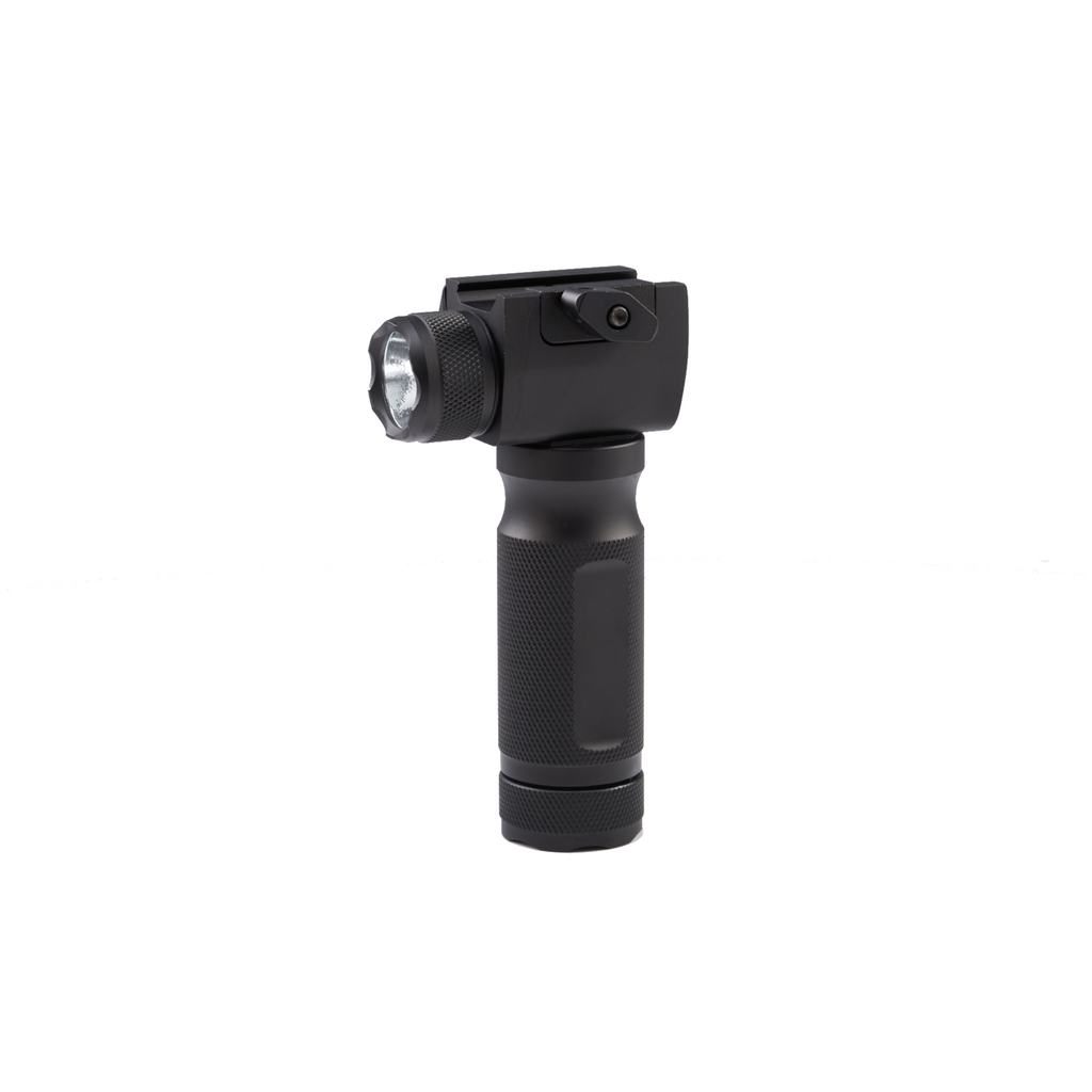 Tactical Foregrip with Flash Light & Red Laser