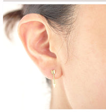 Load image into Gallery viewer, Archer - Tiny Arrow Earrings