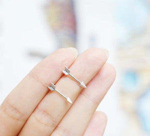 Archer - Tiny Arrow Earrings
