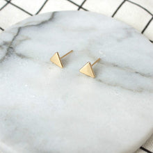 Load image into Gallery viewer, Explore - Triangle Earrings