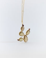 Load image into Gallery viewer, OPUNTIA CACTUS PENDANT