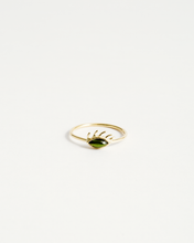 Load image into Gallery viewer, Tourmaline Eye Ring