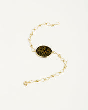 Load image into Gallery viewer, ANTIQUE ROMAN COIN FISHCHAIN BRACELET
