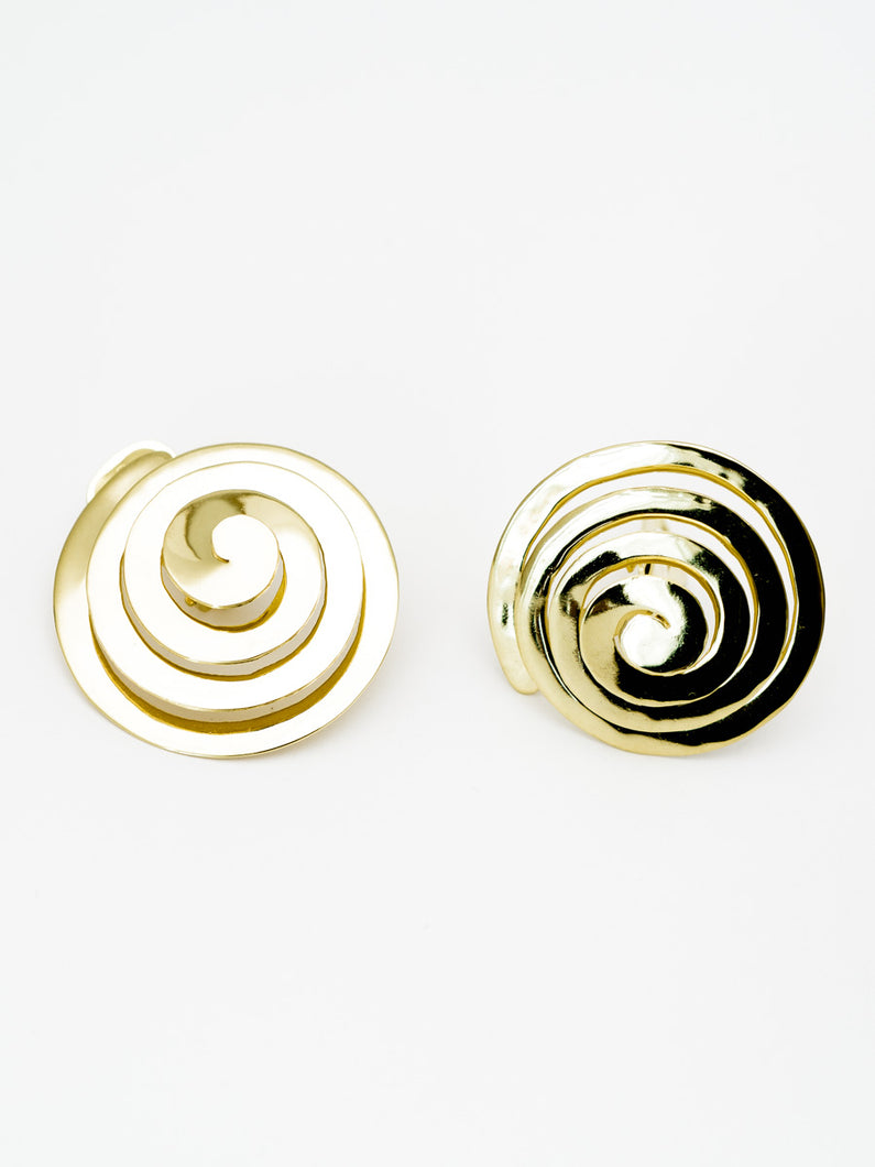 SPIRAL EARRINGS CLIPS