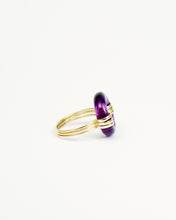Load image into Gallery viewer, DONUT AMETHYST RING