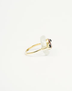 SUPERSEVEN MOONSTONE DONUT RING