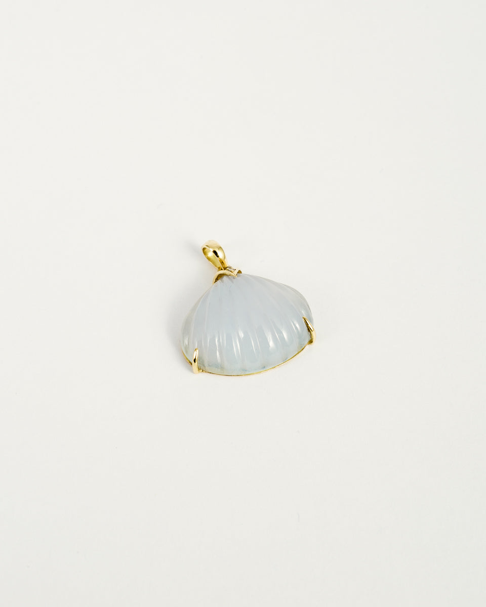 Carved Shell Pendant