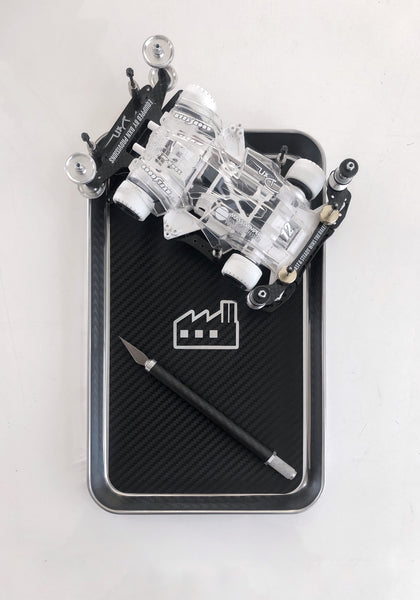 Black Fabrica Stainless Tool Tray