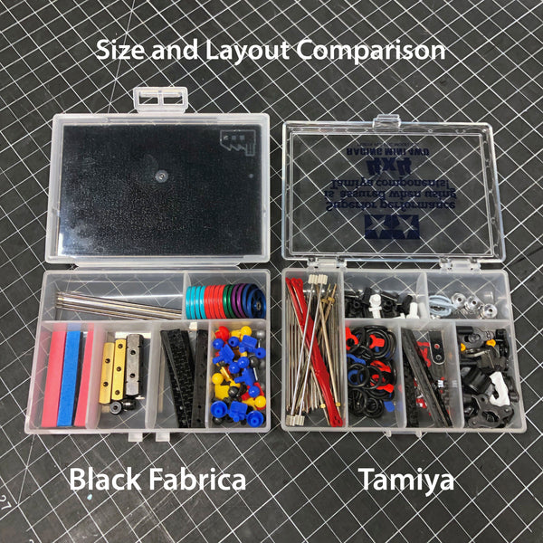 Black Fabrica Parts Case - Small