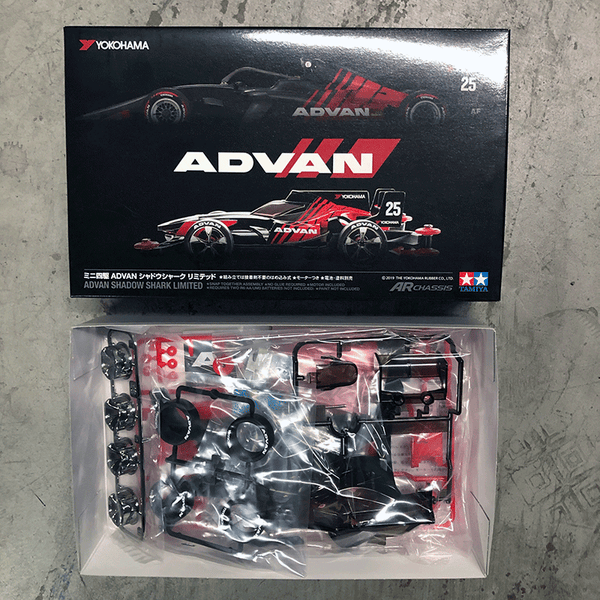 92417 ADVAN Shadow Shark Limited Mini 4WD Kit (AR Chassis)