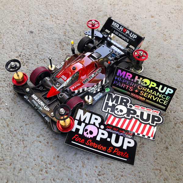 Mr. Hop-Up Skull Sticker Pack
