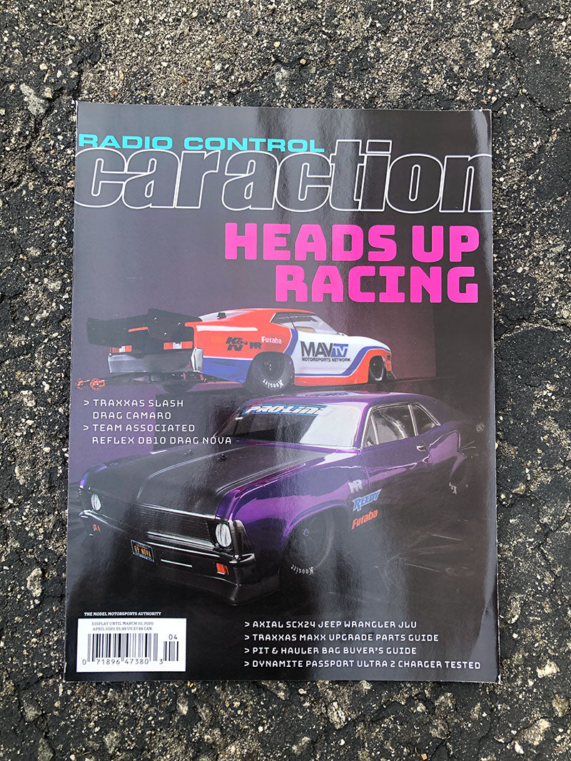 Radio Control Car Action - April 2020
