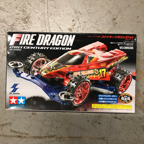 Tamiya Mini 4WD Fire Dragon 21st Century Edition - Red