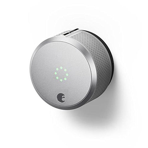 August Smart Lock Pro, 3rd Generation - Silver - Ecosmart Product