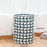 Home Storage Large Capacity Folding Laundry Basket For Toy Storage Dirty Clothes