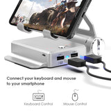 GameSir X1 BattleDock Converter Keyboard And Mouse Adapter For Phones Mobile Legends Free Fire - Ecosmart Product