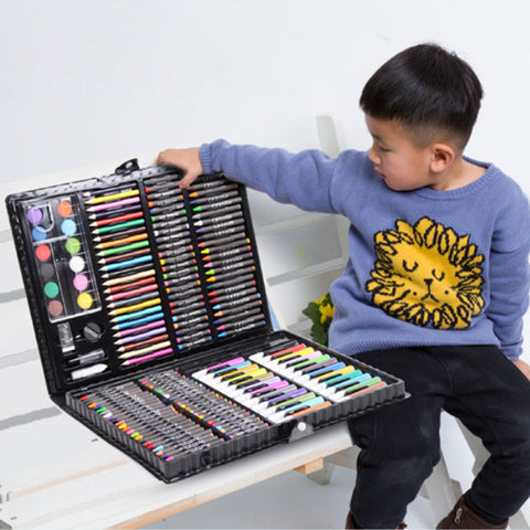 Painting Drawing Art Artist Set Kit for Kids Children Boys Girls Student Christmas Birthday Holiday Festival Gift - Ecosmart Product
