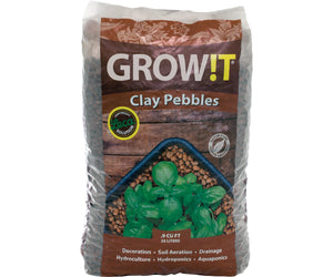 PLANT!T Clay Pebbles 25L 8mm-16mm