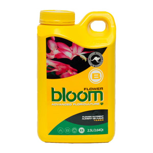Yellow Bottle Nutrients Flower Part B 2.5L