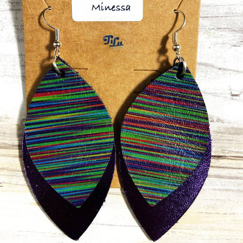 Tilu Designs Minessa Earrings - Be Unique Boutique