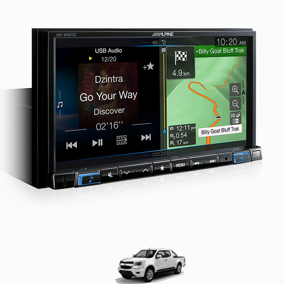 Alpine COLORADO-W997D Premium Infotainment System for Holden Colorado