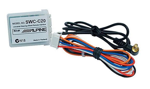 Alpine SWC-C20 Universal Steering Wheel Interface for various Non-CAN-BUS vehicles
