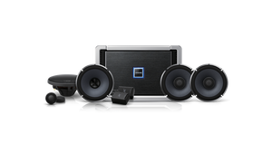 Alpine X-170402 Pack (X-A70F Amp, X-S65C & X-S65 Speakers X-Series Digital Power Speaker System)