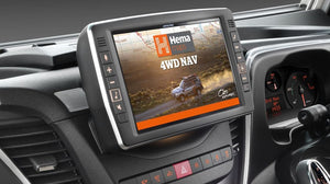 "Alpine X902D-ID 9"" Primo 3.0 Navigation with Hema 4WD Off-Road Maps for Iveco Daily"