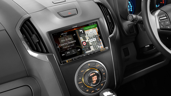 Alpine DMAX-X308AU Premium Navigation Solution for Isuzu D-Max