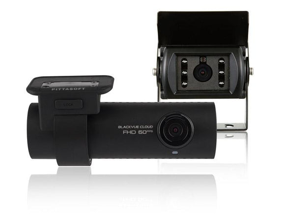 Blackvue DR750S-2CH Full HD Dash and Rear Cameras for Trucks - 64GB
