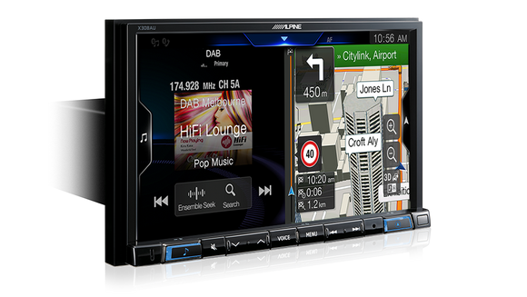 Alpine JETTA-X308AU Premium Navigation Solution for Volkswagen Jetta
