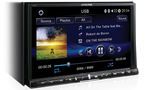 "Alpine i109AD 9"" Audio Visual Multimedia Receiver with with DVD / CD / HDMI / USB / BLUETOOTH / AUX / FLAC / MP3 / WMA / AAC / WAV"