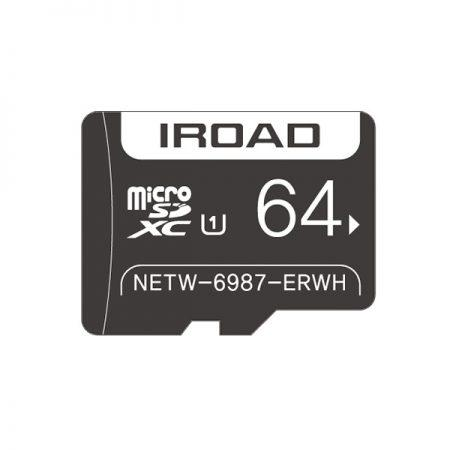 iRoad 64GB Micro SD Card