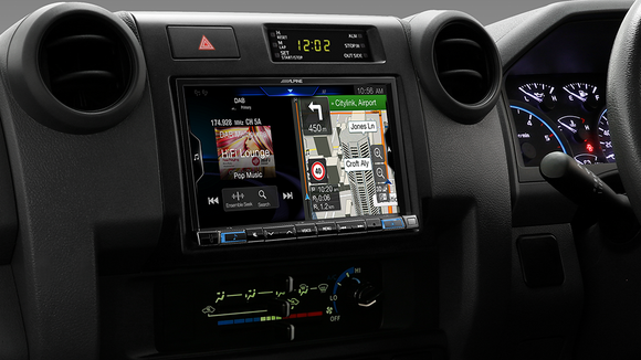 Alpine LC70-X308AU Premium Navigation Solution suitable for Toyota Landcruiser 70 Series