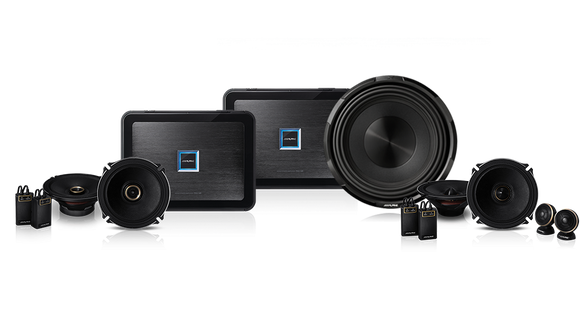 [OUT OF STOCK] Alpine PDX-181001 Pack PDX 4 Channel & Mono Amplifiers / X-Premium Sound Front & Rear Speakers / X-W12D4 12″ X-Series Subwoofer