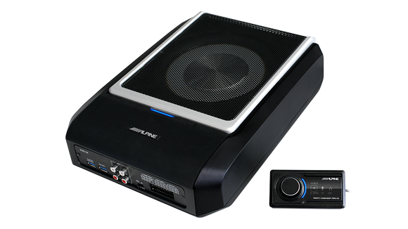 Alpine PWD-X5 All-in-one Compact Subwoofer, Amplifier & DSP