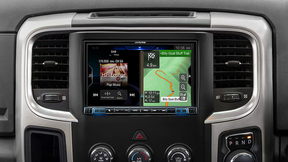 Alpine RAM-X308AU Premium Navigation Solution suitable for Dodge RAM