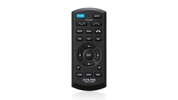 Alpine RUE-4350 Palm-size Infrared Wireless Remote Control (with Phone Button)