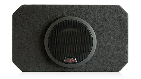 "Alpine SBR-S8D4 900W 8"" Compact Subwoofer (with included grille 