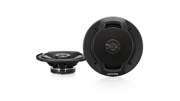 Alpine SPJ-161C2 Type-J 250W 6″ 2-way Coaxial Speaker