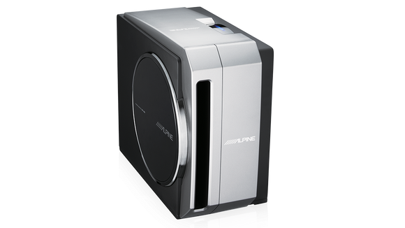 "Alpine SWE-3000 10"" Compact Powered Subwoofer System"