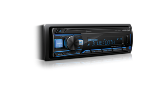 Alpine UTE-73EBT Digital Media Receiver with Bluetooth® / USB / AUX / iPod® and iPhone® / FLAC / TuneIt