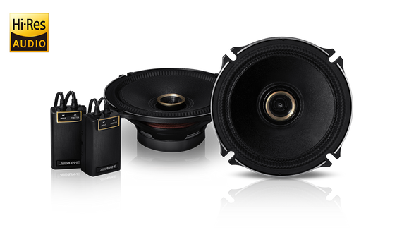 Alpine X-170C X-Premium Sound 6.5″ Coaxial Speakers