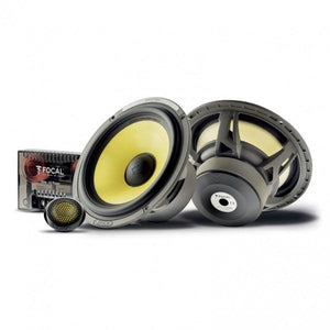 "FOCAL ES165K 6.5"" component kit, Elite series, 100W RMS, 60Hz-22kHz, 4 ohms"